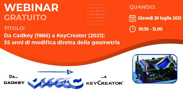 Webinar su KeyCreator